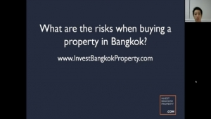 Buying a property in Bangkok does come with certain risks attached to it. In this video, we will discuss the various risks associated with investing in Bangkok properties. Buyers should be aware of the risks before they commit to a property in Bangkok.