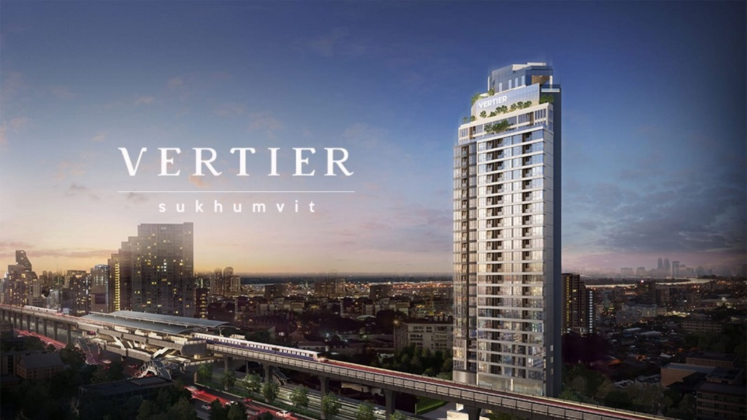 Vertier Sukhumvit by V Property Development. Next to Phra Khanong BTS. One BTS station away from Thong Lor BTS. Popular area with Japanese expatriates.