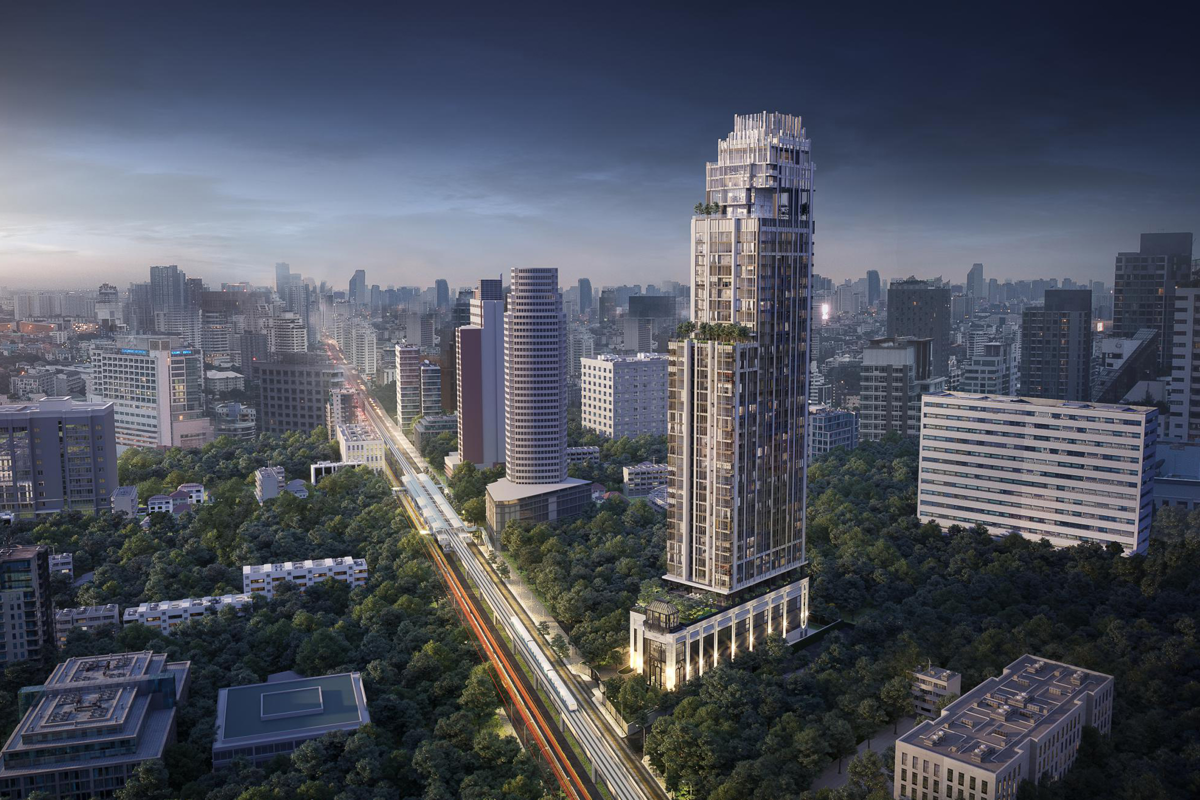 Hyde Heritage Thonglor by Grande Asset Hotels and Property. Hyde Heritage Thonglor is a luxury condominium close to Thong Lor BTS along Sukhumvit Road.